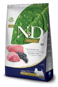 Farmina N&D Prime - Lamb and Blueberry Adult Mini - Dry Dog Food - 5.5 lb