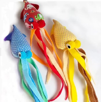Goli Design - Cat Toy - Tenngo Squid