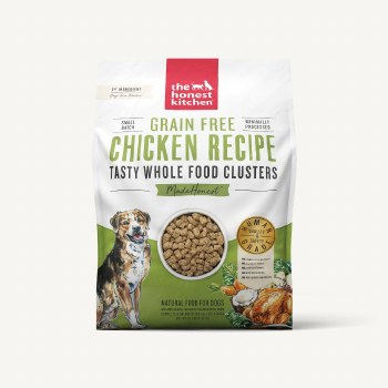 The Honest Kitchen - Clusters Grain Free Chicken Recipe - Dry Dog Food - 20 lb