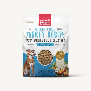 The Honest Kitchen - Clusters Grain Free Turkey Recipe - Dry Dog Food - 20 lb