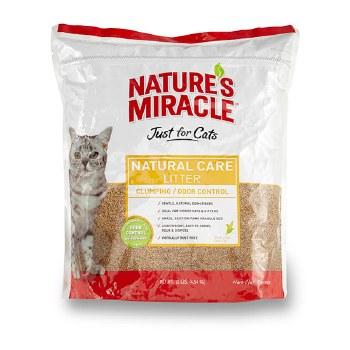Nature's Miracle - Natural Care Corn Cat Litter - 10lb
