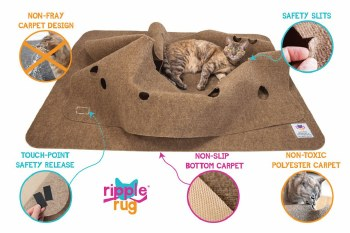 The Ripple Rug - Cat Toy