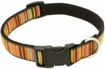 Silverfoot - Dog Collar - 16 Bit Brown - Medium