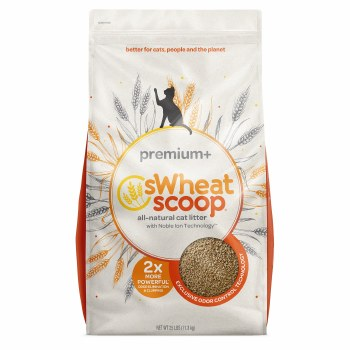 sWheat Scoop - Premium+ Cat Litter - 10 lb