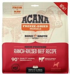 Acana - Freeze-Dried Morsels - Ranch-Raised Beef Recipe - Freeze-Dried Dog Food - 8 oz