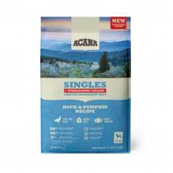 Acana Singles - Duck and Pumpkin + Wholesome Grains - Dry Dog Food - 11.5 lbs