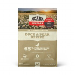 Acana Singles - Duck and Pear - Dry Dog Food - 4.5 lb