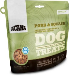 Acana Singles - Pork & Squash -  Freeze Dried Dog Treats - 3.25 oz