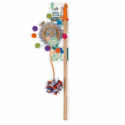 All For Paws - Cat Toy - Whisker Fiesta - Wand Sombrero