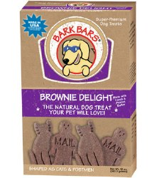 Bark Bars - Dog Treats - Brownie Delight - 12 oz