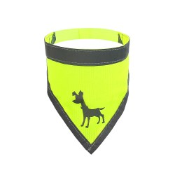 Alcott - Visibility Dog Bandana - Yellow - Small