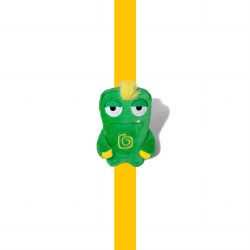 Alien Flex - Plush Dog Toy - Gro Mini