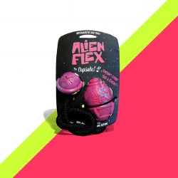 Alien Flex - Rubber Dog Toy - Capsule