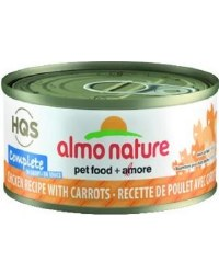 Almo Nature - Chicken with Carrots in Gravy - Canned Cat Food - 2.47 oz