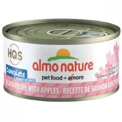 Almo Nature - Salmon with Apples in Gravy - Canned Cat Food - 2.47 oz