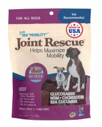 Ark Naturals - Sea Mobility Joint Rescue Chews - Beef - 9 oz