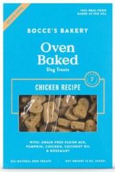 Bocce's Bakery - Crunchy Dog Treat - Grain Free Biscuts - Chicken - 12 oz