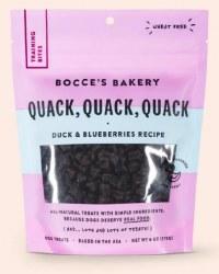 Bocce's Bakery - Chewy Dog Training Treats - Quack, Quack, Quack - 6 oz