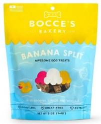 Bocce's Bakery - Crunchy Dog Treats - Limited Edition - Banana Spilt - 5 oz
