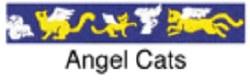 Beastie Bands - Cat Collar - Angel Cats