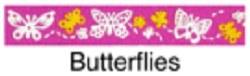Beastie Bands - Cat Collar - Butterflies