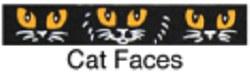 Beastie Bands - Cat Collar - Cat Faces