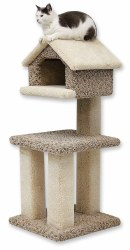 Beatrise - Cat Furniture - Kitty Tree House