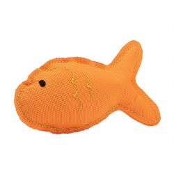 Beco Pets - Cat Toy - Recycled Catnip Toy - Fish