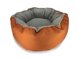 Big Shrimpy - Catalina Plush Bed - Mandarin - Medium