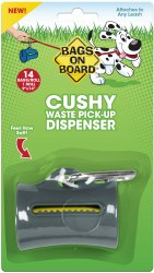 Bags on Board - Poop Bag Dispenser - Cushy - Gray