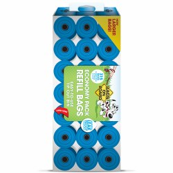 Bags on Board - Poop Bags - Blue - 315 count