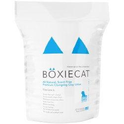 Boxiecat - Clumping Clay Litter - Scent Free - 16lb