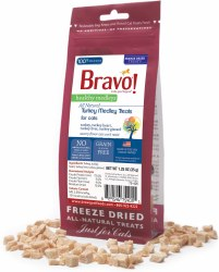 Bravo - Healthy Medley Turkey - Cat Treats - 1.5 oz