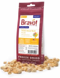 Bravo - Healthy Bites Chicken - Cat Treats - 1.25 oz