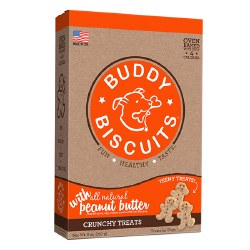 Buddy Biscuits - Dog Treats - Crunchy - Peanut Butter - Teeny - 8 oz