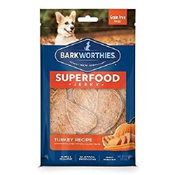 Barkworthies - Superfood Jerky - Turkey with Pumpkin - 4 oz