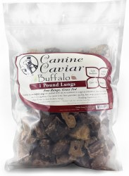 Canine Caviar - Buffalo Lung - 1 lb