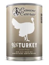 Canine Caviar - 96% Turkey - Canned Dog Food - 13 oz
