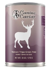 Canine Caviar - 96% Venison Tripe - Canned Dog Food - 13 oz