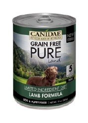 Canidae Grain Free - Pure Land Lamb Formula - Canned Dog Food - 13oz
