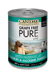 Canidae Grain Free - Pure Sea Salmon & Mackerel Formula - Canned Dog Food - 13oz