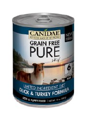 Canidae Grain Free - Pure Sky Duck & Turkey Formula - Canned Dog Food - 13oz