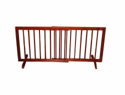 Cardinal - Step Over Gate - Walnut