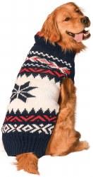 Chilly Dog - Apres Ski Dog Sweater - Navy Vail - XL