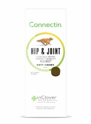 InClover Connectin - Hip & Joint Soft Chews - Dog Supplement - 20 ct