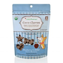 CocoTherapy - Dog Treats - Coco-Charms - Blueberry Cobbler Training Treats - 5 oz