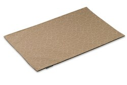 Crypton Placemat - Loopy - Khaki - 26x18""
