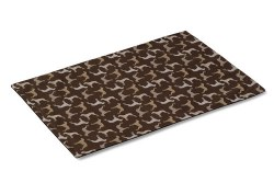 Crypton Placemat - Rotator - Hot Chocolate - 26x18""