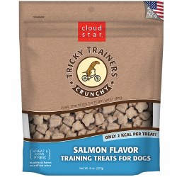 Cloud Star Tricky Trainers - Crunchy Salmon Flavor - Dog Treats - 8 oz