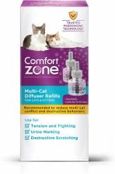 Comfort Zone - Multicat Calming Diffuser Refill - 2 pack